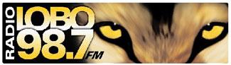 Radio Lobo 98.7 Logo