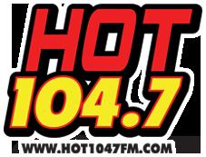 Hot 104.7 Logo