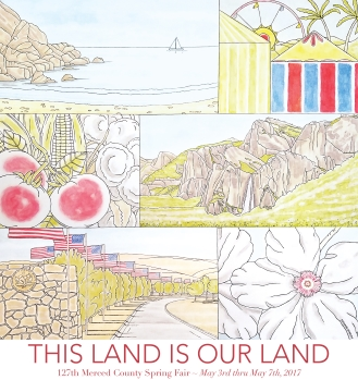 This Land Is Our Land, Spring Fair 2017 Artwork